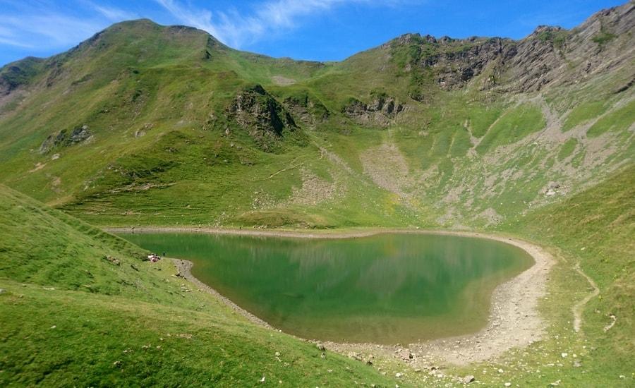 Les rives du lac du Montagnon !