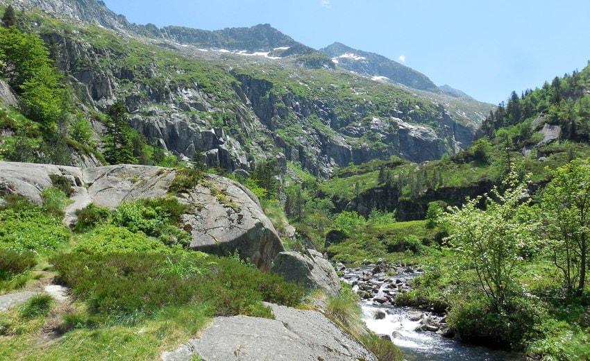 Rivière d'Ars au cap de Pich