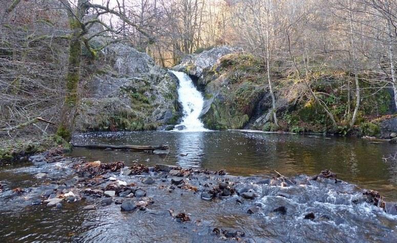 La cascade de Gouloux
