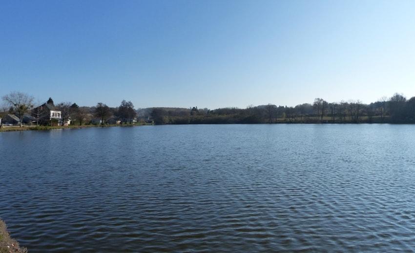 L'étang d'Ouroux-en-Morvan