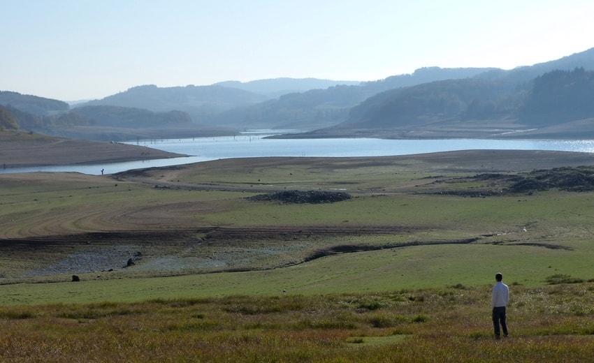 Lac de Pannecière depuis Blaisy