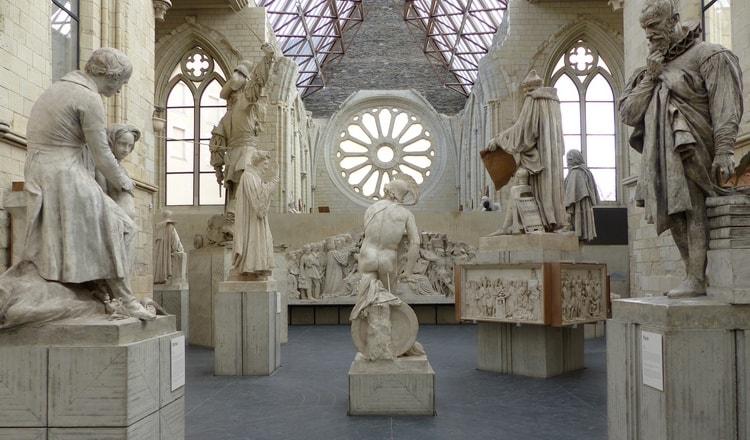 Entrée de la galerie David d'Angers