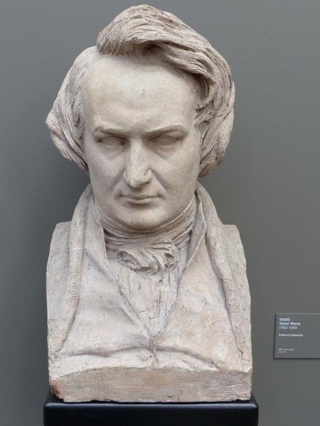 Buste de Victor Hugo par David d'Angers