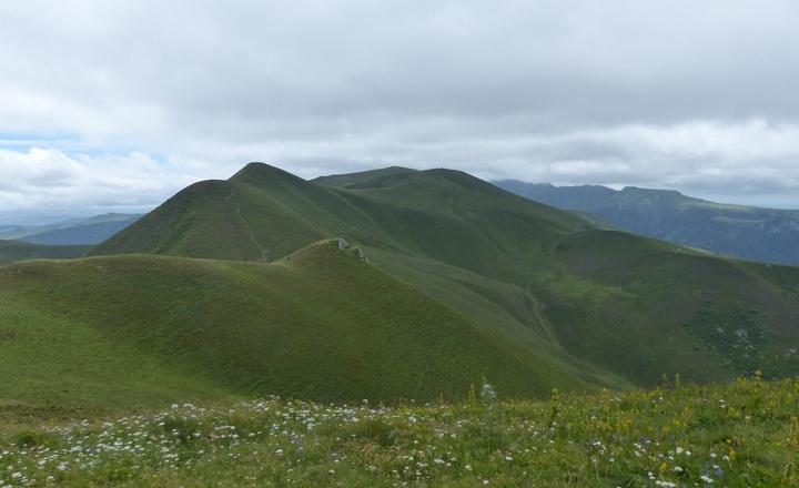 Le sentier des cascades au Mont-Dore